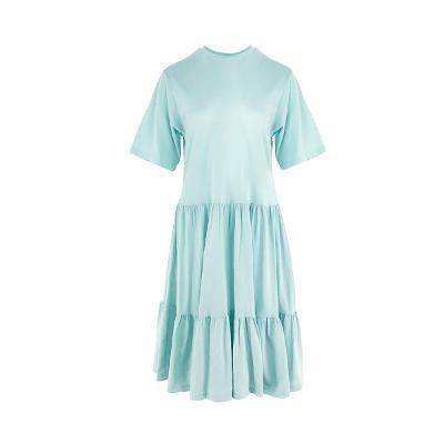 cancan baby doll dress blue4